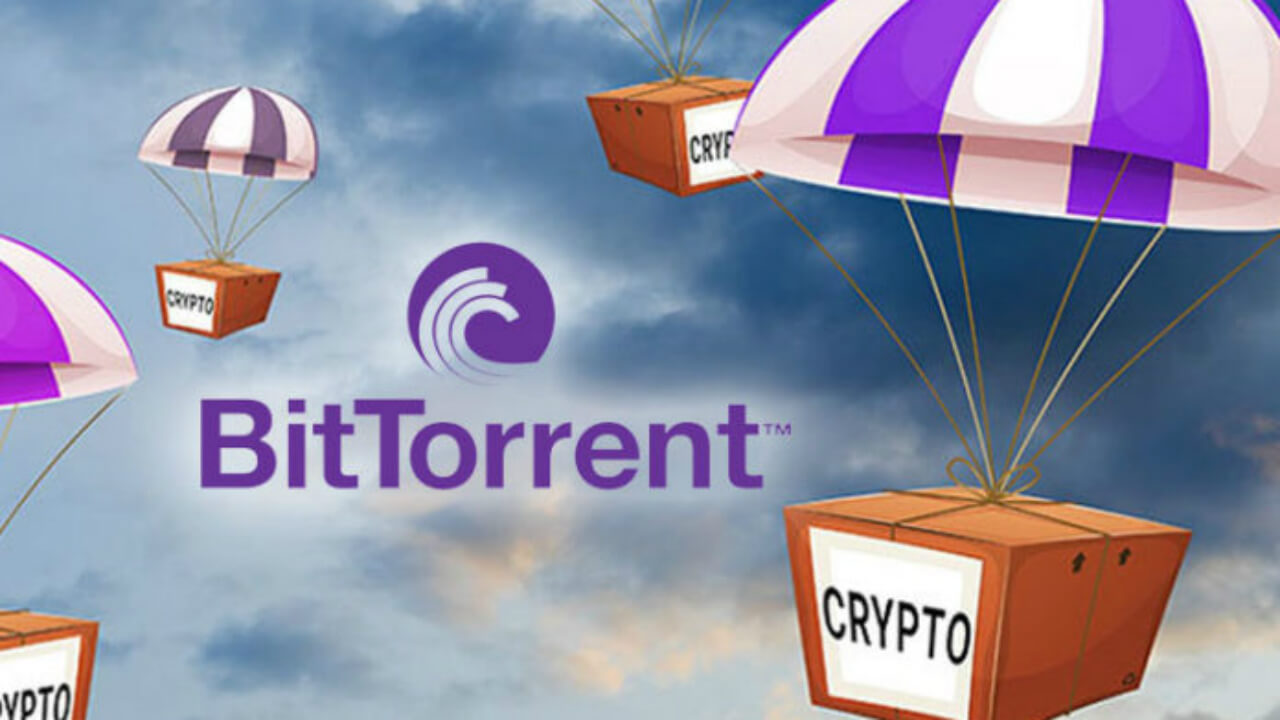 BitTorrent is giving out free cryptocurrency✌